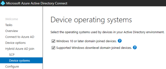 Hybrid Azure AD Joined Devices | Microsoft Information